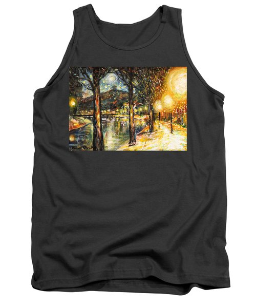 Midnight Reflections Tank Top
