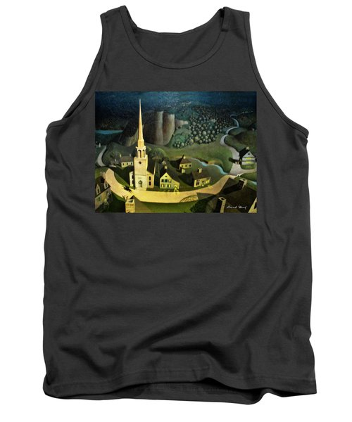 Midnight Ride Of Paul Revere Tank Top