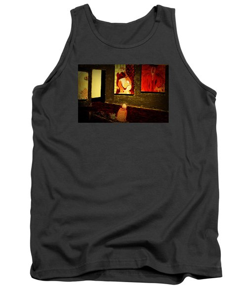 Midnight With Pablo Tank Top