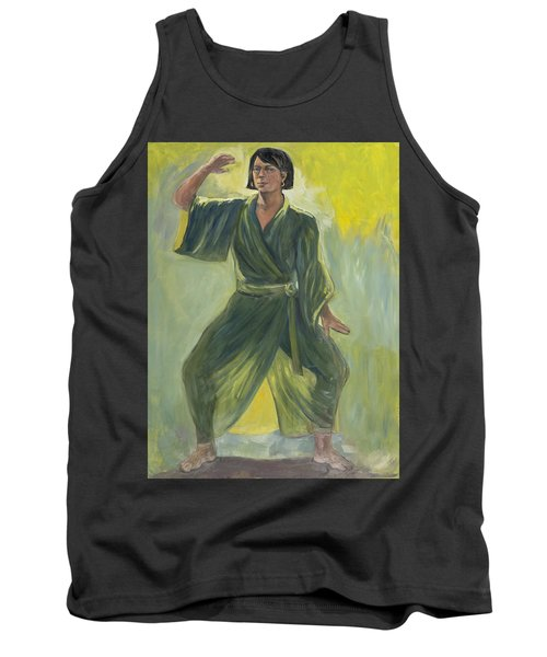 Mighty Woman Kick-butt Tank Top