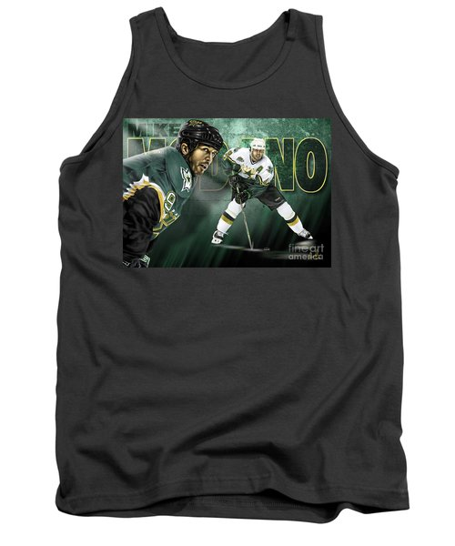Tank Top featuring the digital art Mike Modano by Don Olea