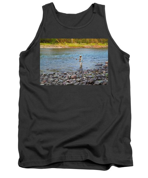 Mike's River-1 Tank Top