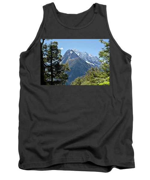 Milford Sound, New Zealand Tank Top