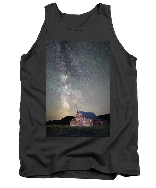 Milky Way And Barn Tank Top