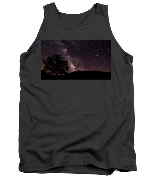 Milky Way And The Tree Tank Top