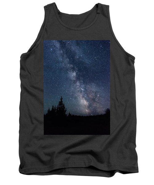 Milky Way At Eastern Oregon Wilderness Tank Top