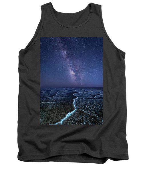 Milky Way At The Salt Flats Tank Top