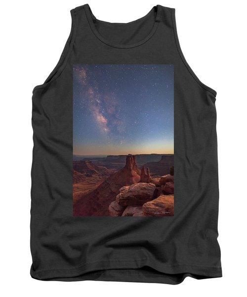 Milky Way At Twilight - Marlboro Point Tank Top
