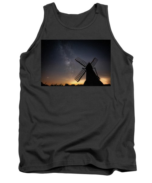 Tank Top featuring the photograph Milky Way At Wicken by James Billings