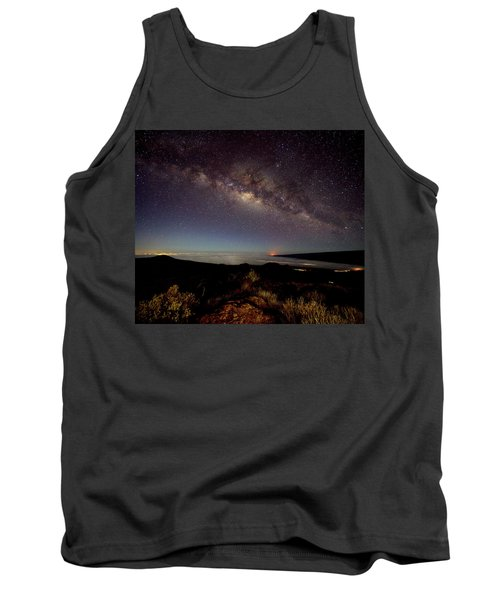 Milky Way From Mauna Kea Tank Top
