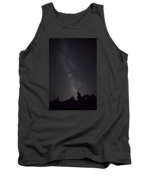 Milky Way Galaxy At Arches National Park Tank Top