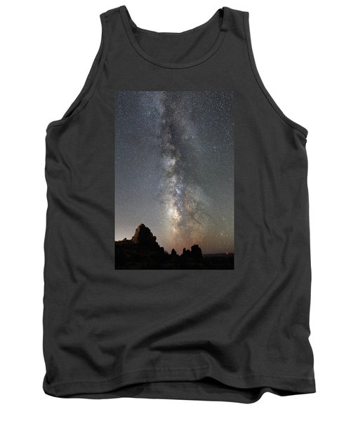 Milky Way Over Arches Np  One Tank Top