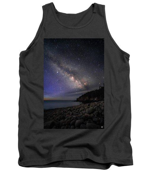 Milky Way Over Boulder Beach Tank Top