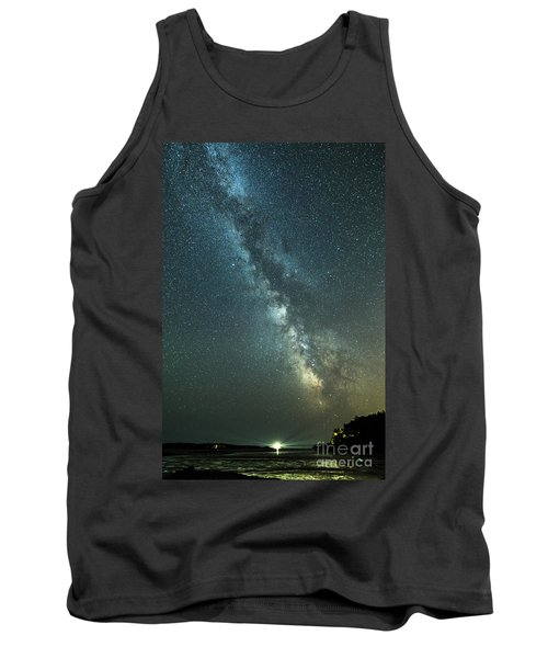 Milky Way Over Clams Flats Tank Top