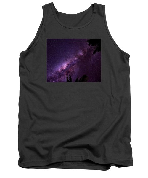 Milky Way Over Mission Beach Tank Top by Avian Resources
