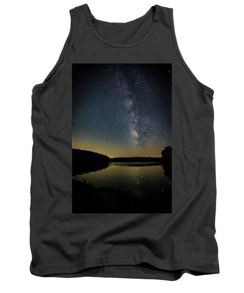 Milky Way Over Price Lake Tank Top