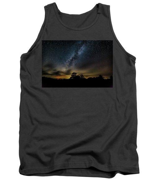 Milky Way Over The Blue Ridge Tank Top