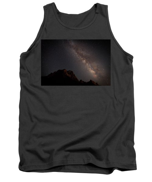 Milky Way Over Zion Tank Top