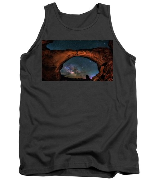 Milky Way Under The Arch Tank Top