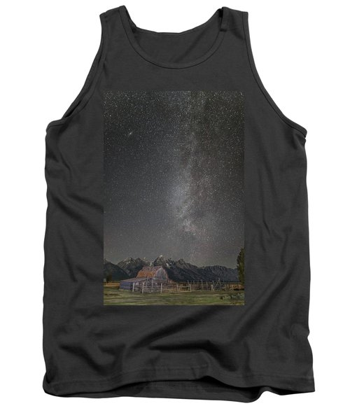 Milkyway Over The John Moulton Barn Tank Top