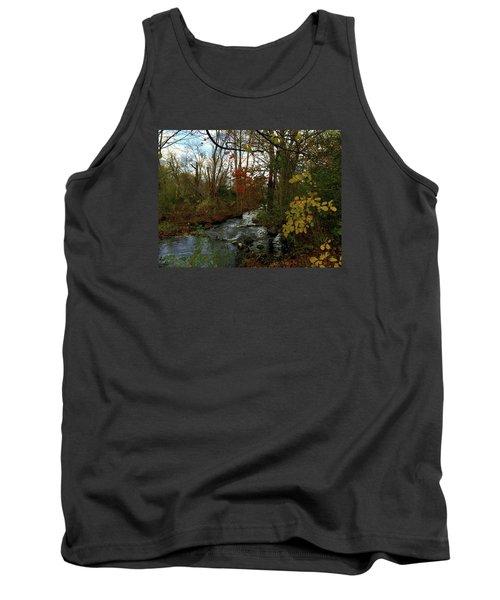 Mill Creek, Sandwich Massachusetts Tank Top