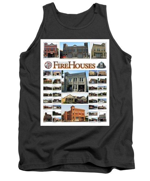 Milwaukee Fire Houses Tank Top