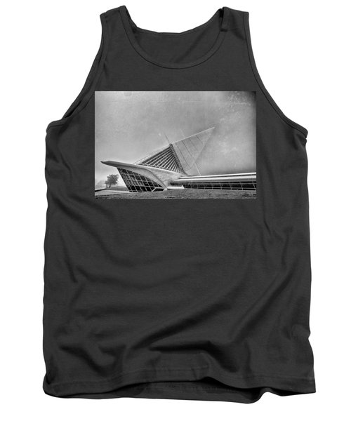 Tank Top featuring the photograph Milwaukee Museum Of Art Special 2 by David Haskett
