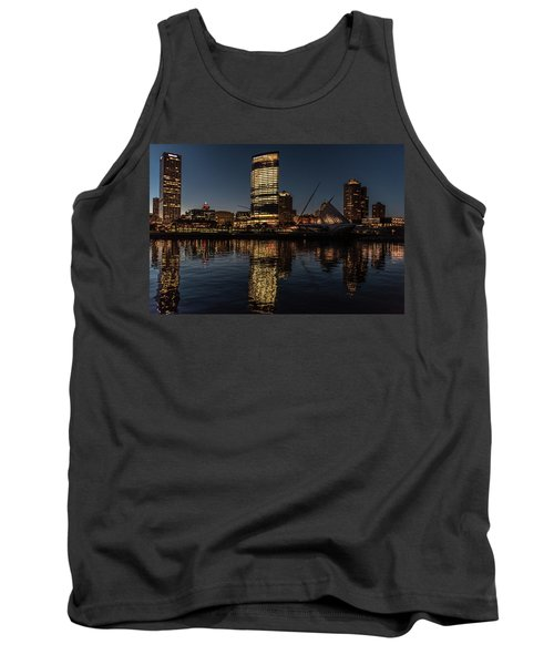 Milwaukee Reflections Tank Top by Randy Scherkenbach
