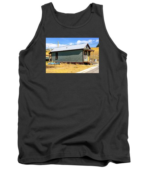 Miners Shack In Montana Tank Top by Chris Smith