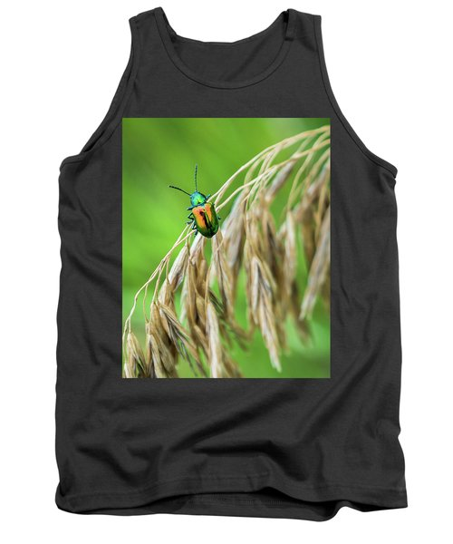 Tank Top featuring the photograph Mini Metallic Magnificence  by Bill Pevlor