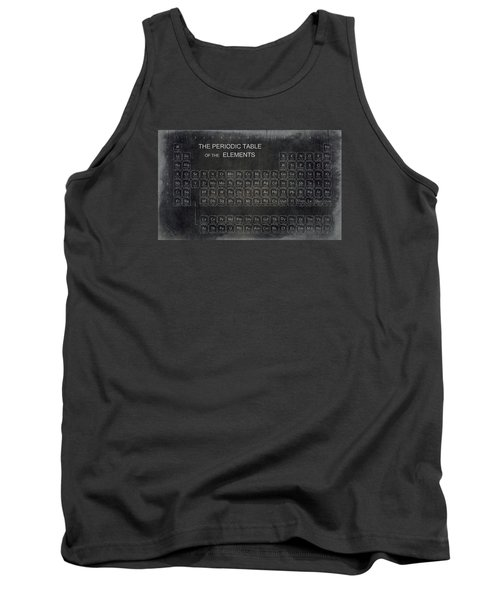 Minimalist Periodic Table Tank Top by Daniel Hagerman