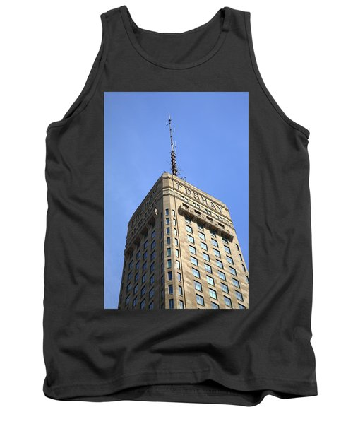 Tank Top featuring the photograph Minneapolis Tower 6 by Frank Romeo