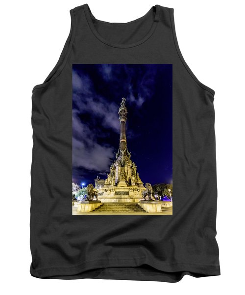 Mirador De Colom Tank Top by Randy Scherkenbach