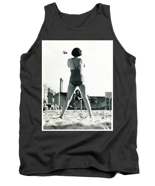 Tank Top featuring the photograph Miramar Pool, 1932 by Cole Thompson