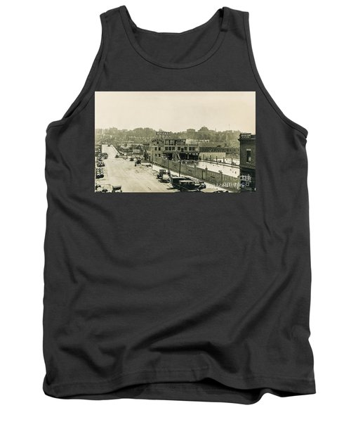 Tank Top featuring the photograph Miramar Pool, 1927 by Cole Thompson