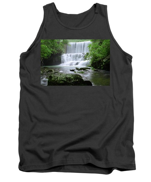 Tank Top featuring the photograph Mirror Lake by Renee Hardison