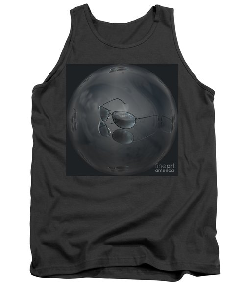 Tank Top featuring the photograph Mirror Me by Shirley Mangini