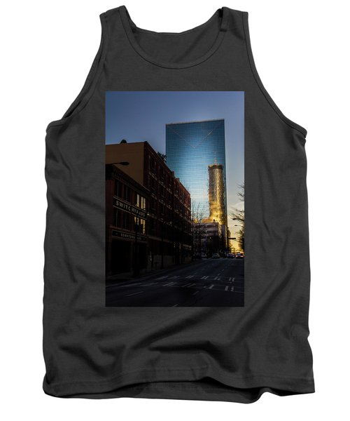 Mirror Reflection Of Peachtree Plaza Tank Top