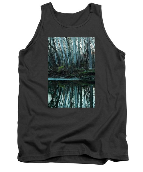Mirrored Tank Top by Bruce Patrick Smith