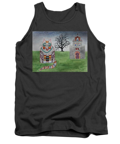 Mission Espada Cat Tank Top
