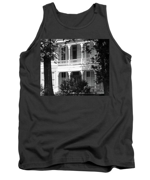 Mississippi Haunted House Tank Top