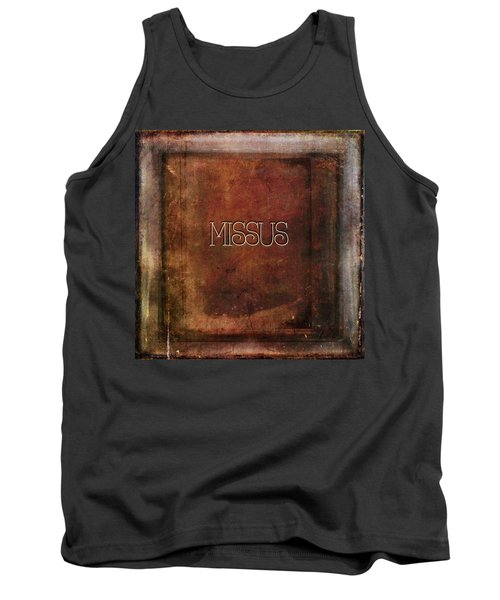 Tank Top featuring the digital art Missus by Bonnie Bruno