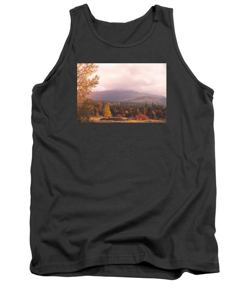 Mist On The Mountains Tank Top