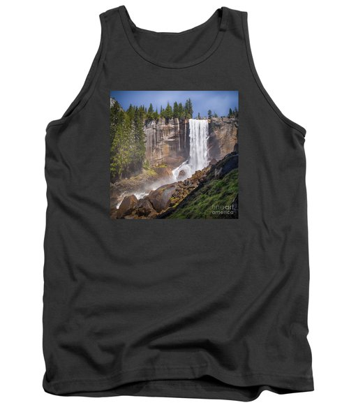 Mist Trail And Vernal Falls Tank Top