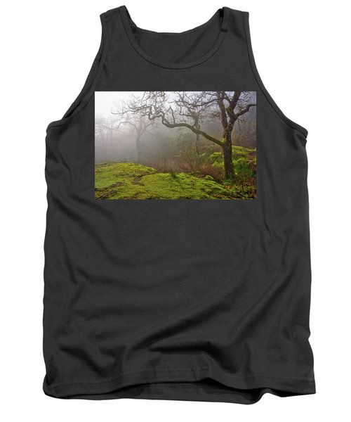 Misty Forest Tank Top by Keith Boone