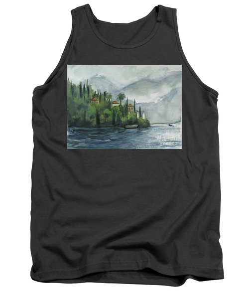 Misty Island Tank Top by Laurie Morgan