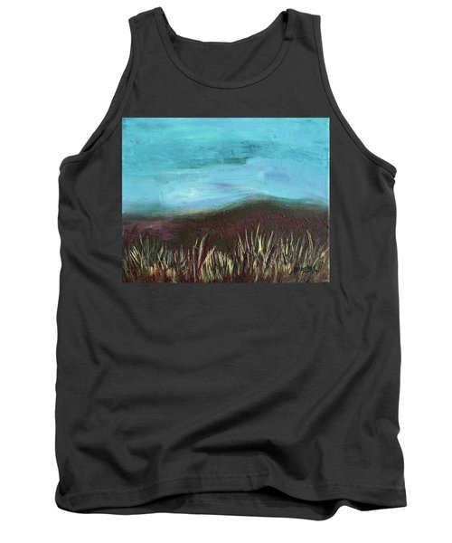 Misty Moors Tank Top by Donna Blackhall