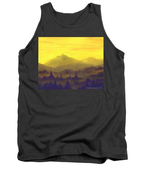 Misty Mountain Gold 01 Tank Top