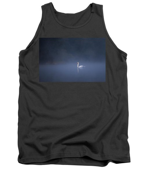 Misty River Swan Tank Top