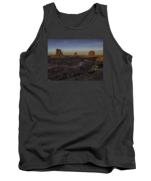 Mittens Morning Greeting Tank Top by Rob Wilson